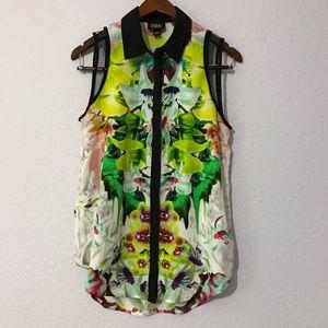 🌱Prabal Gurung (Target) sleeveless blouse size M